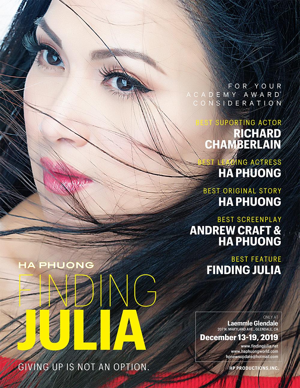 finding julia awards